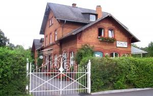Bahnhof Schlitz - erbaut 1898